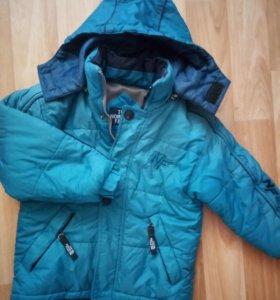Куртка the North Face 6-8 лет