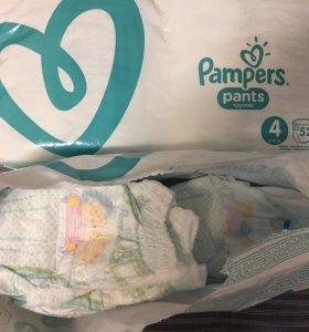 Подгузники-Трусики Pampers Pants 4(9-15kg)