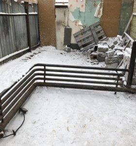 Электро радиатор для контейнеров и гаражей