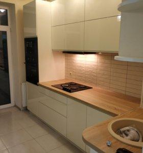 Кухня Акриловая , встроенная