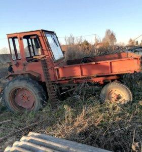 Трактор Т -16 с косилкой
