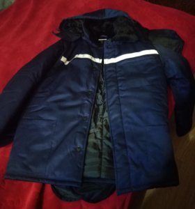 Зимния спец одежда !