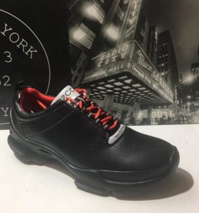 Кожаные кроссовки экко биом Топ Тен ( 41-45 )