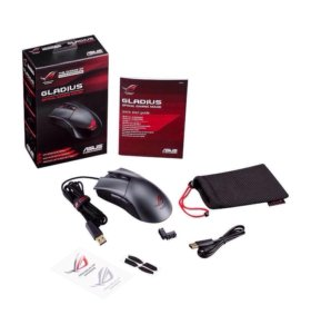 Мышь Asus Rog Gladius Black USB