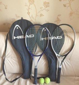 Продам две ракетки для большого тенниса