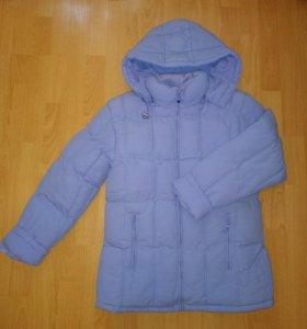 Зимняя куртка с холлофайбером