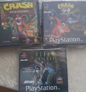 Ps1 Demo Crash Bandicoot Alien Playstation 1