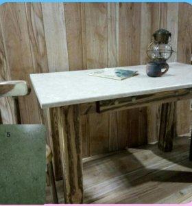 Стол деревянный  1м20см