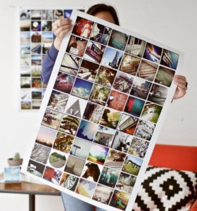 Инстапостер коллаж из ваших фотографий