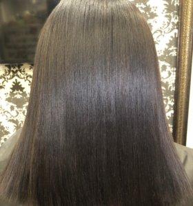 Ботокс +Холодное молекулярное восстановление волос