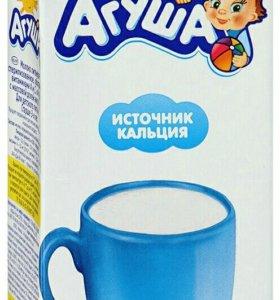 Молоко Агуша 1л х 6шт