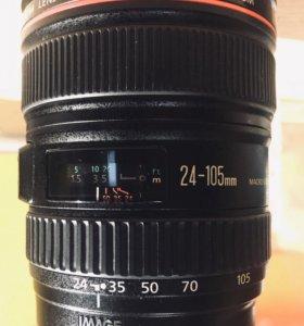 Canon zoom Lens EF 24-105mm 1:4 L IS USM