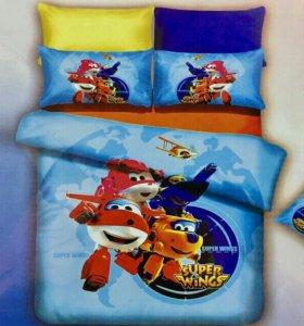 Детское постельное белье новое