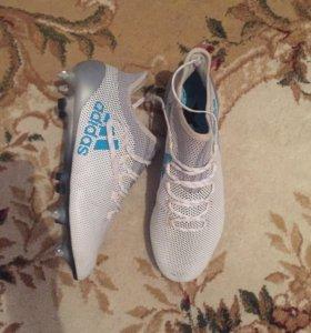 Футбольные бутсы adidas X