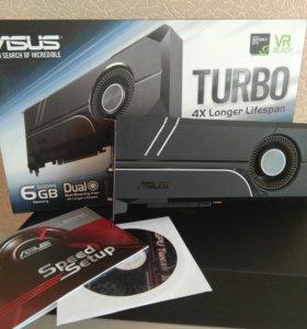 Видеокарта ASUS nVidia GeForce GTX 1060 6GB TURBO