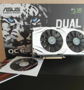 ASUS GeForce GTX 1060 DUAL 6gb