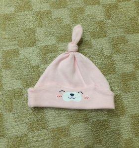 Новая шапочка для новорождённой