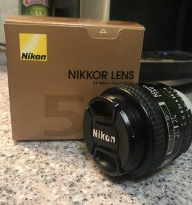 Объектив AF NIKKOR 50mm f/1.4D