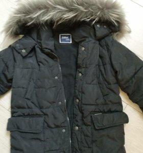 Зима куртка 7-10лет