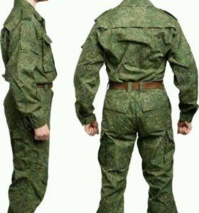 Военный костюм летний цифра
