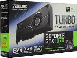 asus geforce gtx 1070 turbo 8 гб gddr5