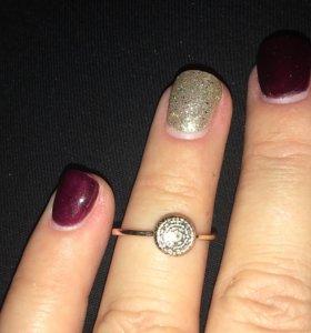 Кольцо с бриллиантами 💎 «МЮЗ»