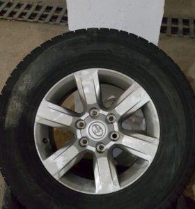 4 колеса в сборе (с дисками)