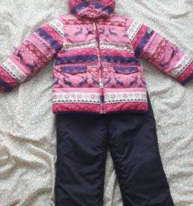Зимний костюм для девочки фирмы Futurino
