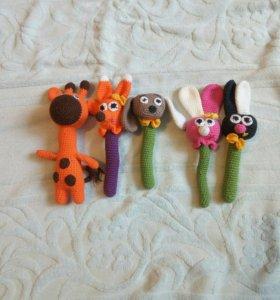 Вязаные игрушки в наличии и под заказ