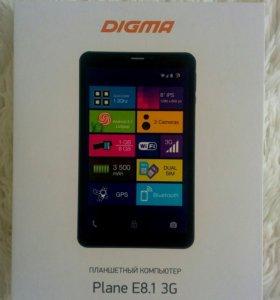 Плашет DIGMA Plane E8.1. 3G