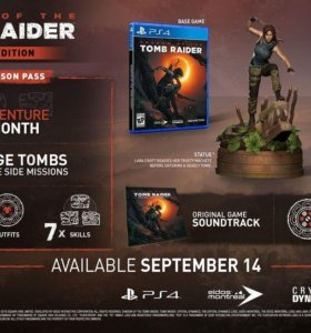Shadow of the Tomb Raider Ultimate Edition PS4