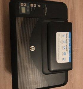 Новый принтер hp