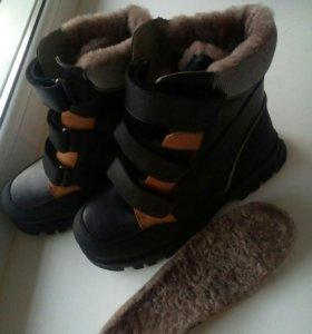 Зимние ортопедические ботинки.