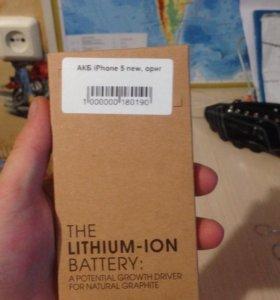 Аккумулятор на айфон 5 s