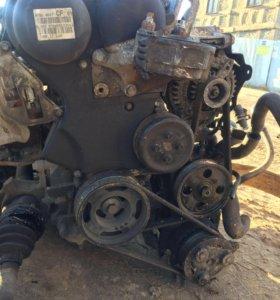 Двигатель и каробка передач от форд фокус 1.8