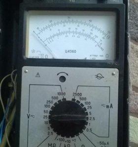 Прибор для измерения Ц4360/ЗИП 45-1000Hz