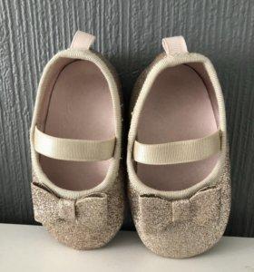 Новые детские балетки H&M
