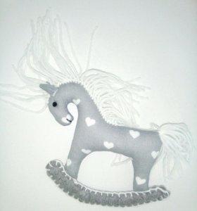 Лошадь. Текстильная игрушка