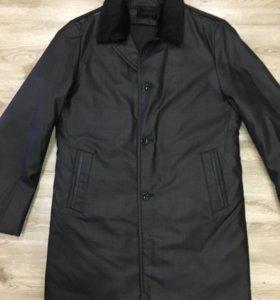 Пальто утеплённое новое