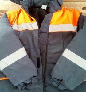 Зимняя рабачая куртка