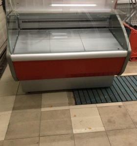 Холодильная витрина 1,5 Полюс Эко Б/У