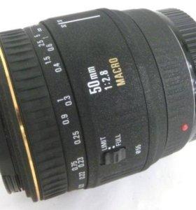 Объектив Sigma EX 50mm 1: 2.8 для Nik