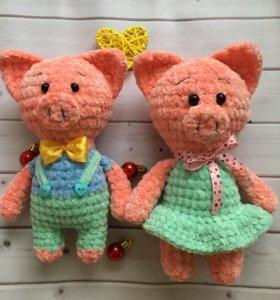 Плюшевые свинки