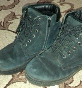 Ботинки зимние мужские б/у