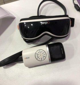 Лимфодренажные очки PG-2404-G1, массажер для глаз
