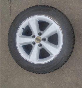 Зимние колёса в сборе для форд фокус,мондео