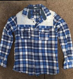 Тёплая рубашка новая Reserved