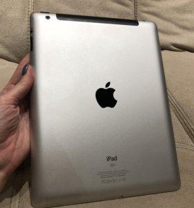 iPad 3 поколения, 32 Гб с Wi-Fi и симкартой