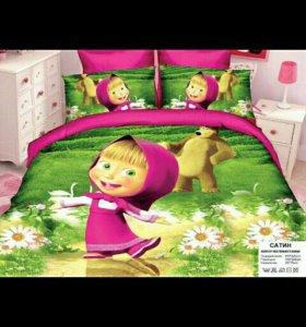 Детское постельное белье разное новое