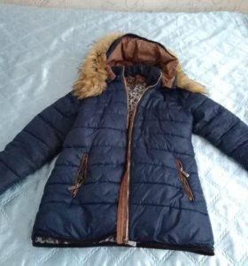 Куртка зима 44-48р